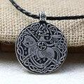 1 pcs Legendários Vikings Viking Norse Sleipnir E Soldado Valknut Corvo Colar Pingente Amuleto Talismã