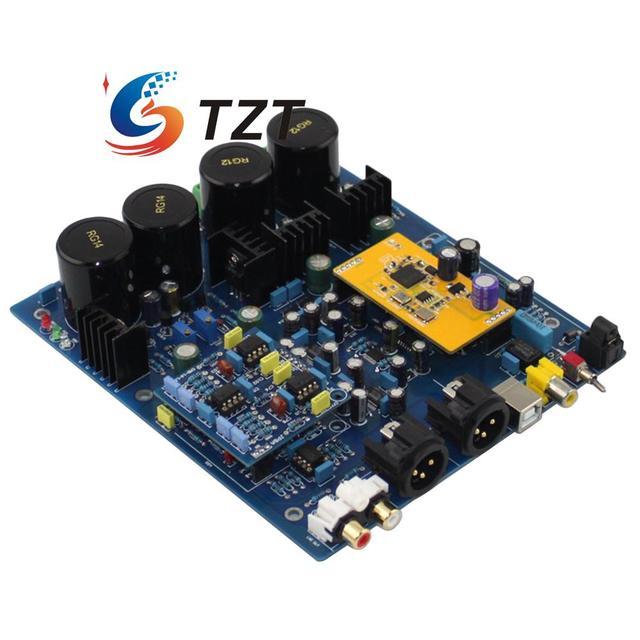 DSD1796 NE5532 Двойной Чип ЦАП Плата Декодера с XMOS U8 Sub Карты для Аудио DIY
