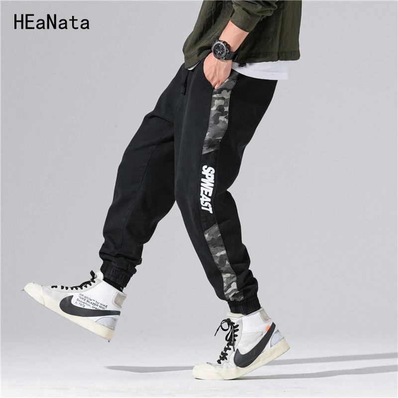 Pantaloni Black Autunno S4 Abbigliamento Tuta Degli Di Tasche s4 Nuovo  Sweatswear Vintage Banda Della Lato Armygreen Casual Mens Uomini Hip Stampa  Hop ... 7e1fb871614e