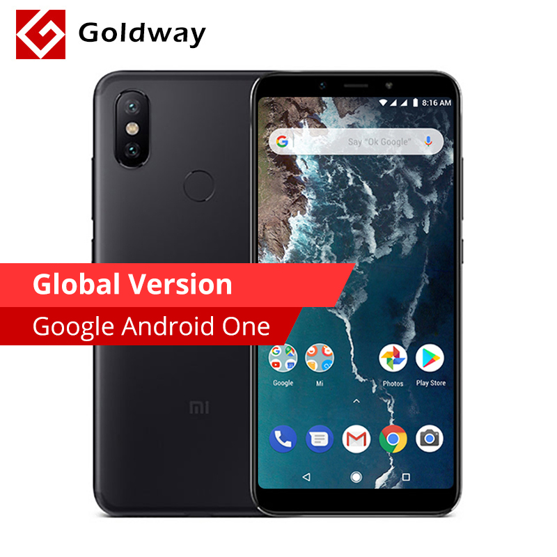 "Global Version Xiaomi Mi A2 Mia2 4gb Ram 64gb Rom Mobile Phone Snapdragon 660 Octa Core 5.99"" 19:9 Full Screen 20mp Dual Camera #1"