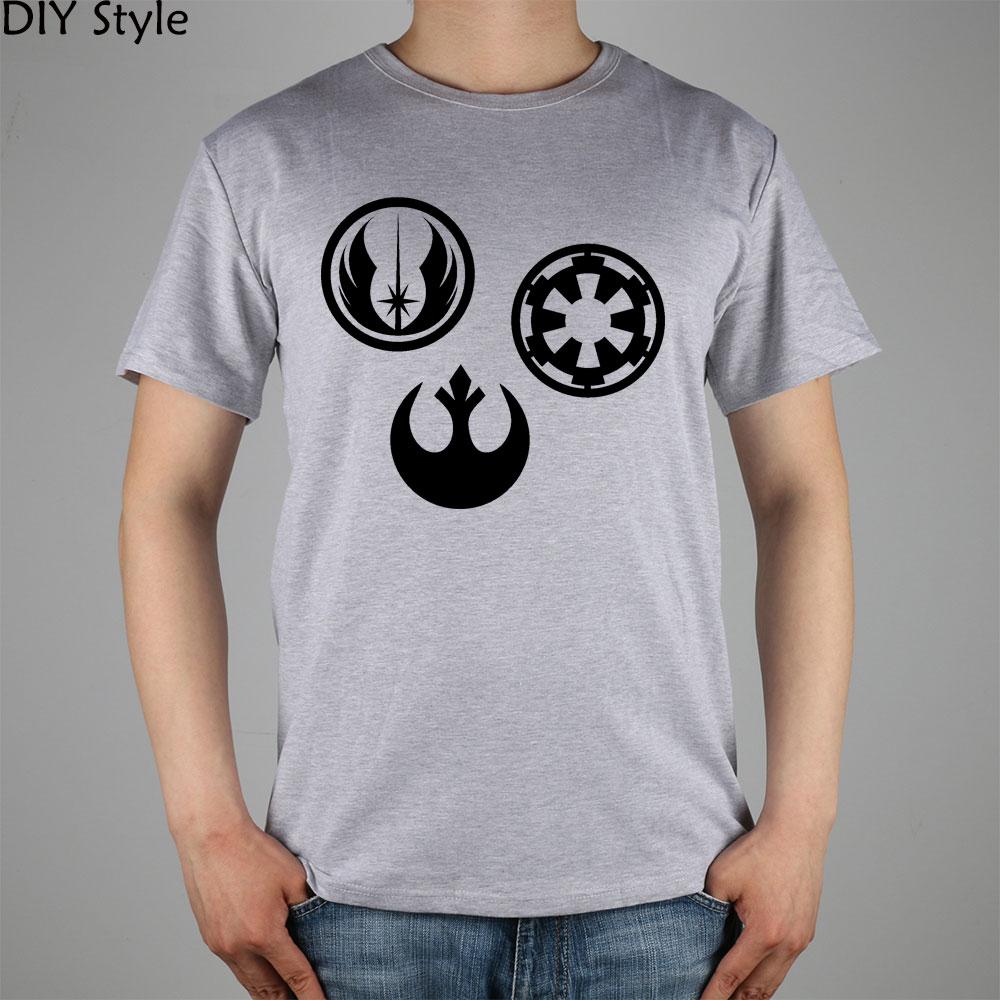 159 Best Star Wars T Shirts Images On Pinterest: Rebel Alliance Star Wars T Shirt Top Lycra Cotton Men T