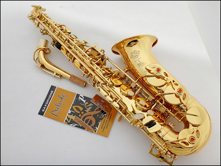 Alto Saxophone instrument French Selmer SAS-802 E-flat alto saxophone musical instrument electrophoresis gold saxophone taiwan saxophone selmer 80ii alto saxophone musical instrument saxophone antique copper wind shipping