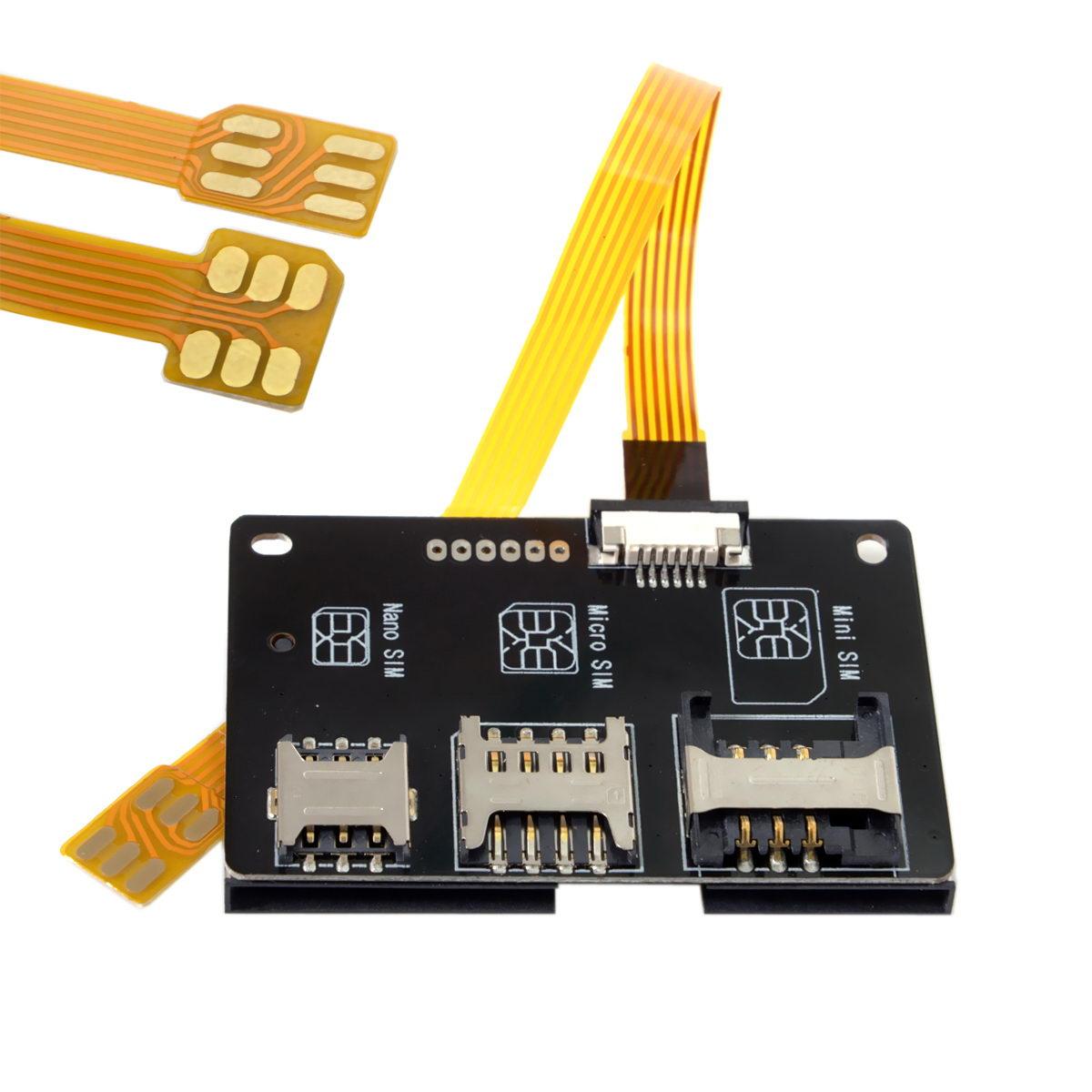 10pcs/lot  Nano SIM Activation Tools Converter to Smartcard IC Card Extension for Micro & Nano SIM Card Adapter Kit