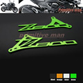 Para kawasaki z800 z 800 2013-2016 motocicleta accesorios pie de peg talón placas protector verde