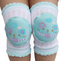 1 Pair Fashion Baby Kneepad Animal Cartoon Children Knee Pads Doll Learn To Walk Best Protection Cotton Harnesses Leashes