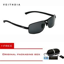 Бренд VEITHDIA, мужские солнцезащитные очки, поляризационные, солнцезащитные очки, очки для вождения, oculos de sol, мужские очки, аксессуары, оттенки для мужчин