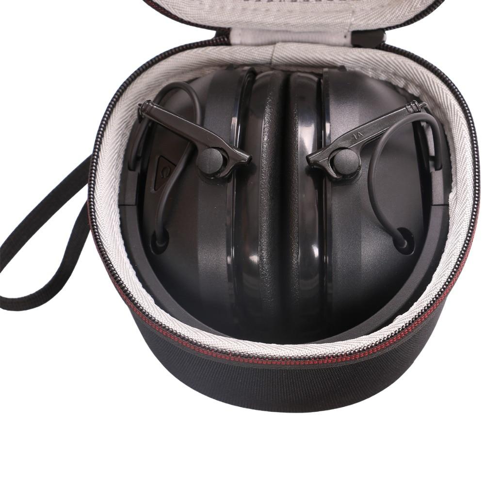 LTGEM Caso Duro di EVA per Peltor Tattici di Sport 300 & 500 Elettronico Hearing Protector-Sacchetto di Immagazzinaggio di Viaggio di TrasportoLTGEM Caso Duro di EVA per Peltor Tattici di Sport 300 & 500 Elettronico Hearing Protector-Sacchetto di Immagazzinaggio di Viaggio di Trasporto