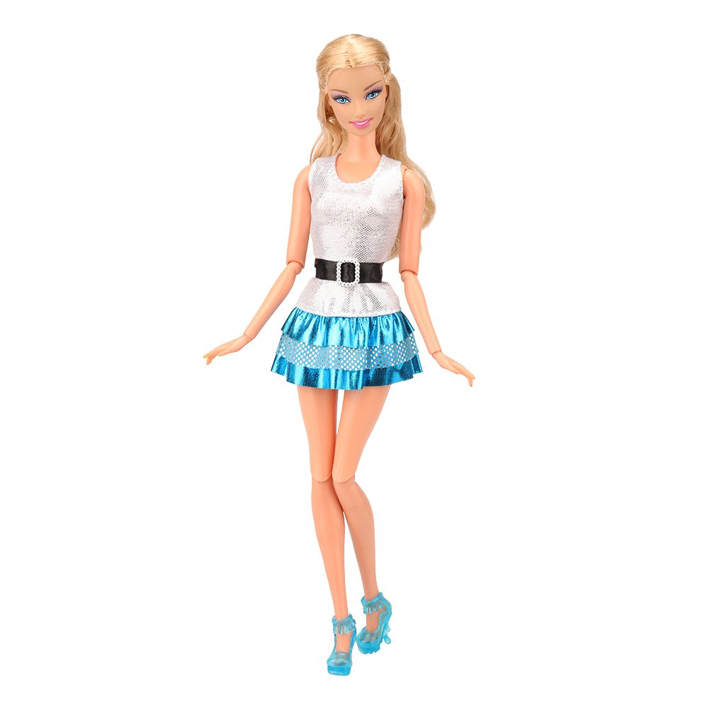 Hot Fashion Handmade Party High Quality Dress Accessories Clothes For Barbie Doll Cloth Christmas Gift Girl Toys Pants Skirt