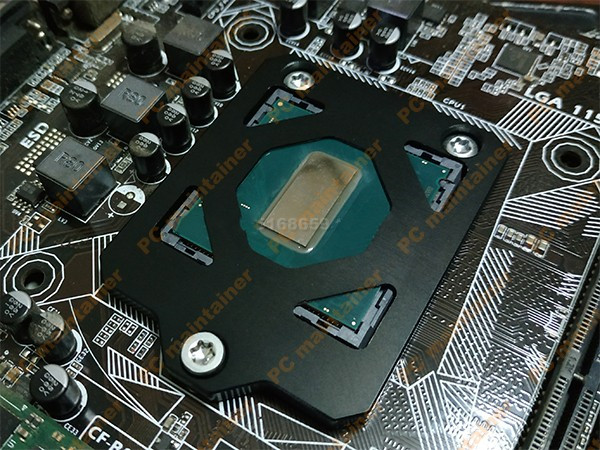 CPU open cover protector 9600K 9700K <font><b>9900K</b></font> 9 generation for <font><b>Intel</b></font> 115x Delid Die Guard CPU cover opener protector CPU buckle image