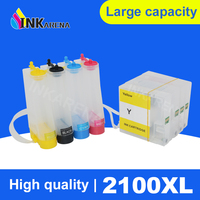4 Color Continuous Ink System Tank Ciss For Canon PGI 2100 PGI2100XL PGI 2100 For Canon MAXIFY MB5310 iB4010 Printer Ciss