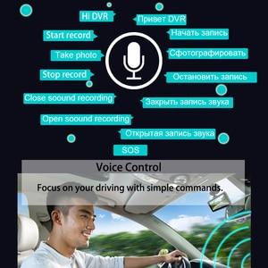 Image 5 - E ACE Mini Dash Camara Video Recorder Car Dvr Voice Contro Full HD 1296P 3.0 Inch Dashcam Auto Registrator Nigh Vision Dual Lens