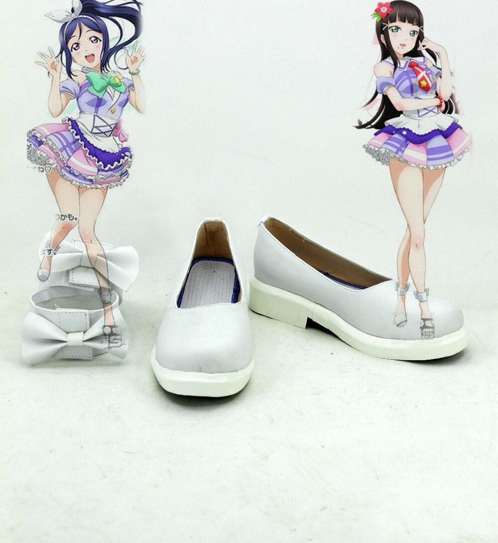 Love Live Aqours Cosplay Kurosawa Dia Shoes Boots costumes