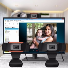 HD كاميرا فيديو رقمية الويب كاميرا بنيت في الصوت امتصاص ميكروفون USB2.0 لأجهزة الكمبيوتر المحمول سطح المكتب الكمبيوتر كاميرا ويب