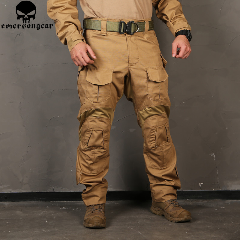 men Camouflage Hunting Pants Emersongear G3 Multicam Tactical Airsoft Combat Emerson Trousers(China)