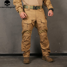 Pantalones de camuflaje para hombre Emersongear G3, pantalón táctico Multicam de combate Airsoft Emerson