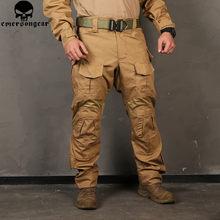 Pantalon de Camouflage pour hommes, pantalons de chasse, émersongear G3 Multicam, pantalons de Combat tactique Airsoft