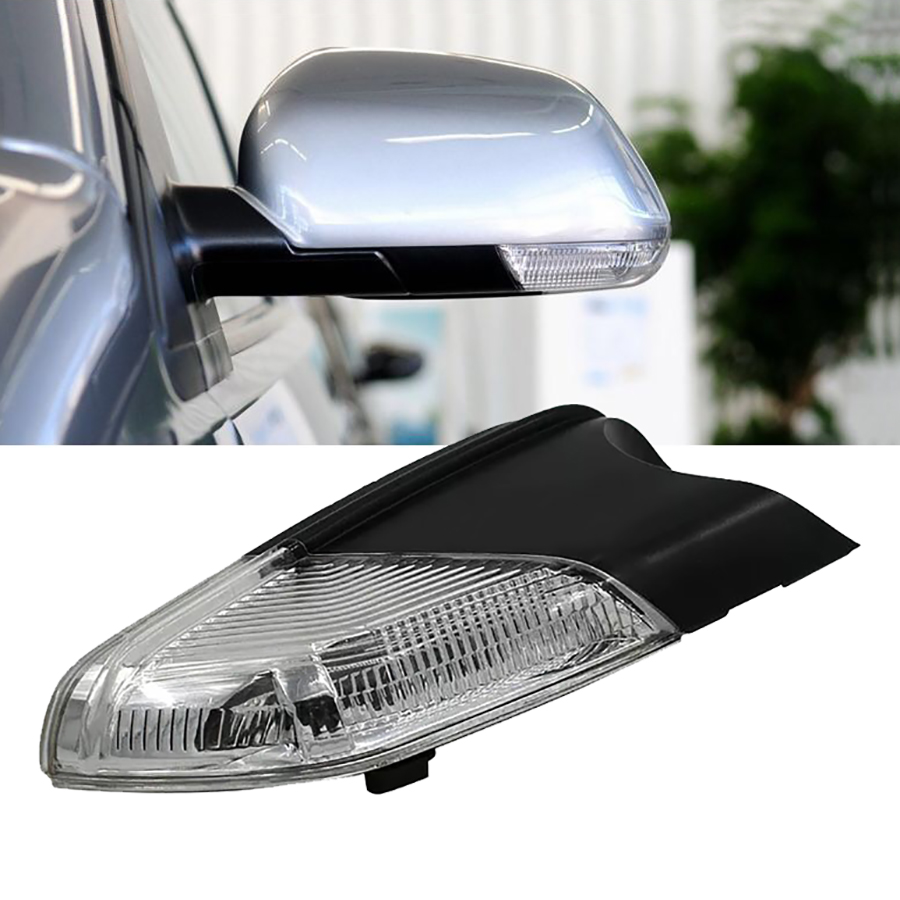 Car Accessories Rearview Mirror Lamp Turn Signal Light Car Styling Indicator Led For Volkswagen Polo Skoda Octavia MK4 2007-2014 car styling 2017 2pcs 14smd arrow panel led rear view mirror indicator turn signal light for volkswagen touareg car styling