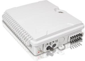 Image 3 - FTTH 12 แกนเส้นใยการสิ้นสุดกล่อง 12 พอร์ต 12 ช่อง Splitter กล่องในร่มกลางแจ้งเส้นใย Splitter กล่อง ABS