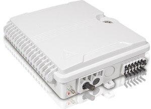 Image 3 - FTTH 12 kerne faser Termination Box 12 port 12 kanal Splitter Box indoor outdoor faser Splitter Box ABS