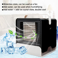 Mini Usb Fan Portable Air Conditioner Humidifier Purifier Desktop Air Cooler Fan for Office Home Usb Cooling Fan Usb Gadgets