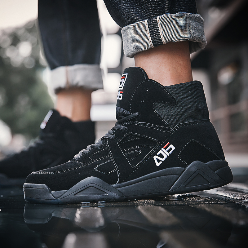 Aelfric Eden Hip Hop Schoenen 2018 Mode Skateboard Sneakers Comfortabele Hoge Top Mannen Enkellaarsjes Actieve Casual Footwear Ae037-in Casual schoenen voor Mannen van Schoenen op  Groep 3