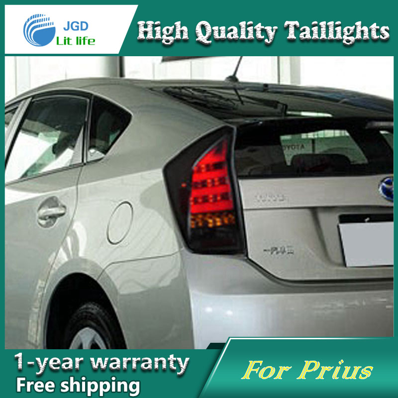Car Styling Tail Lamp for Toyota Prius taillights Tail Lights LED Rear Lamp LED DRL+Brake+Park+Signal Stop Lamp car styling tail lamp for toyota highlander 2009 2011 tail lights led tail light rear lamp led drl brake park signal stop lamp