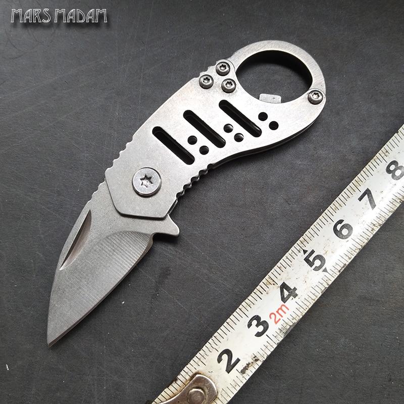 Kicsi összecsukható kés; mini kulcs kés; kiváló ajándék kés - Kézi szerszámok - Fénykép 1