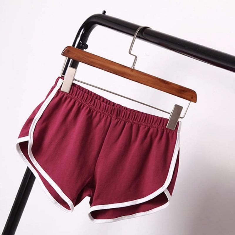 New Summer Shorts Women Casual Shorts Workout Waistband Skinny Short 25