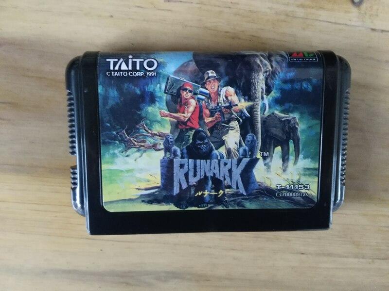 MD Game : RUNARK ( Japan Version!! )