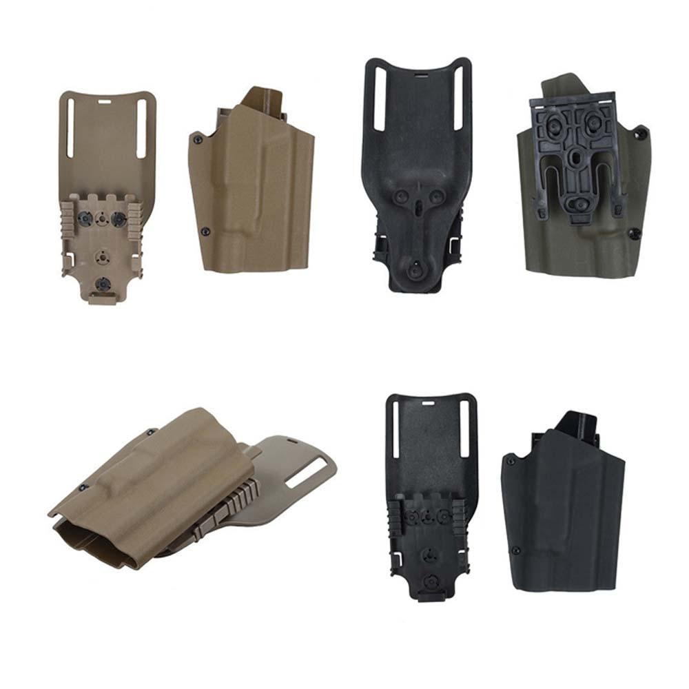 Tactical Airsoft TMC G17 X300 Kydex Belt Holster Drop Adapter Quick Release Holster Set