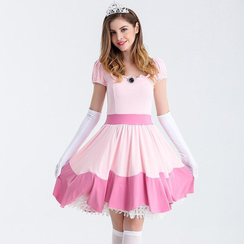 2019 Sexy lady lolita uniform carnival party masquerade ball costume Skirts Sleeping beauty dresses Princess aurora dress