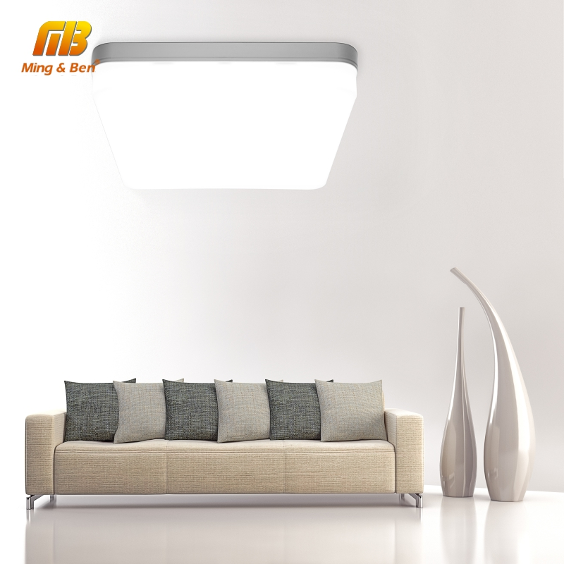 Ultra Thin LED Ceiling Lamp LED Modern Panel Light 48W 36W 24W 18W 9W 6W 85-265V Bedroom Kitchen Surface Mount Flush Panel Light(China)