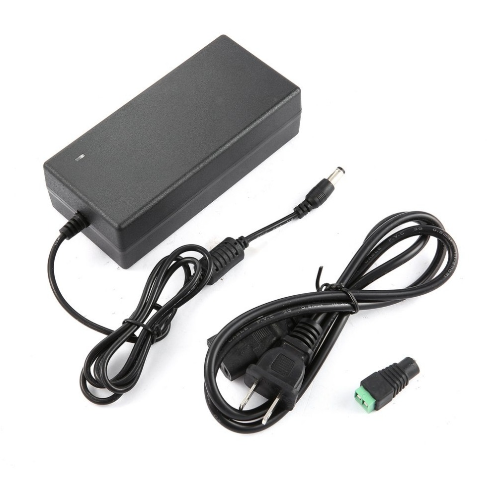 12V 8A AC/DC Power Supply Adapter for Household Electronics Transformer Plug AC 100V-240V 50/60Hz Plug & Play Desktop Charger(China)