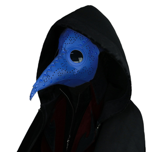 Image 4 - Steampunk Plague Bird Mask Doctor Mask Long Nose Cosplay Fancy Mask Retro PU Leather Halloween Mask Costume Props
