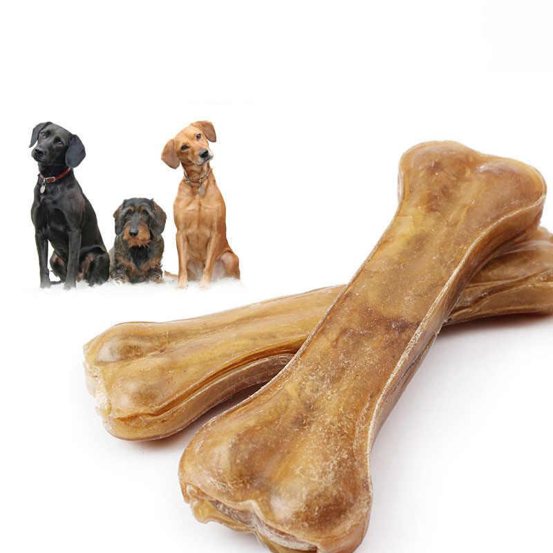 8 размеров прочная собака игрушки-Жвачки Жевательная кость игрушки для агрессивных доме натуральный Собака зубной жевательные кости для маленьких, средних и больших собак