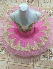 2017 new pink Ballet Dance Cotumes Adult Professional Ballet Tutus  Adult Costume Tutu Dance Leotard Girls Ballet Dress Women
