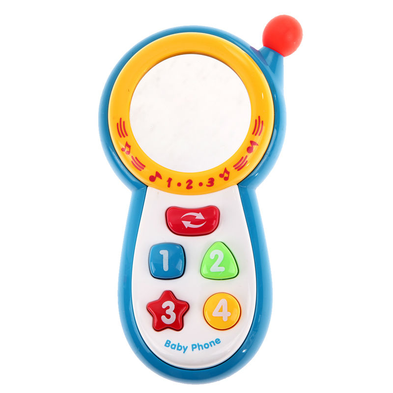 Kids Musical Sound Toy Cell Phone Baby Educational Toy Mobilephone Children Music Songs Sing Sounding Phone Toy