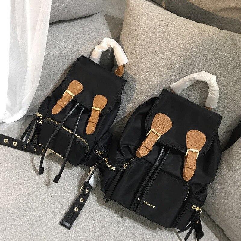 Sacs d'école holographiques de luxe de sac à dos de blackpink pour les adolescentes anti-vol en nylon imperméable boucles de chaîne sac à dos de voyage