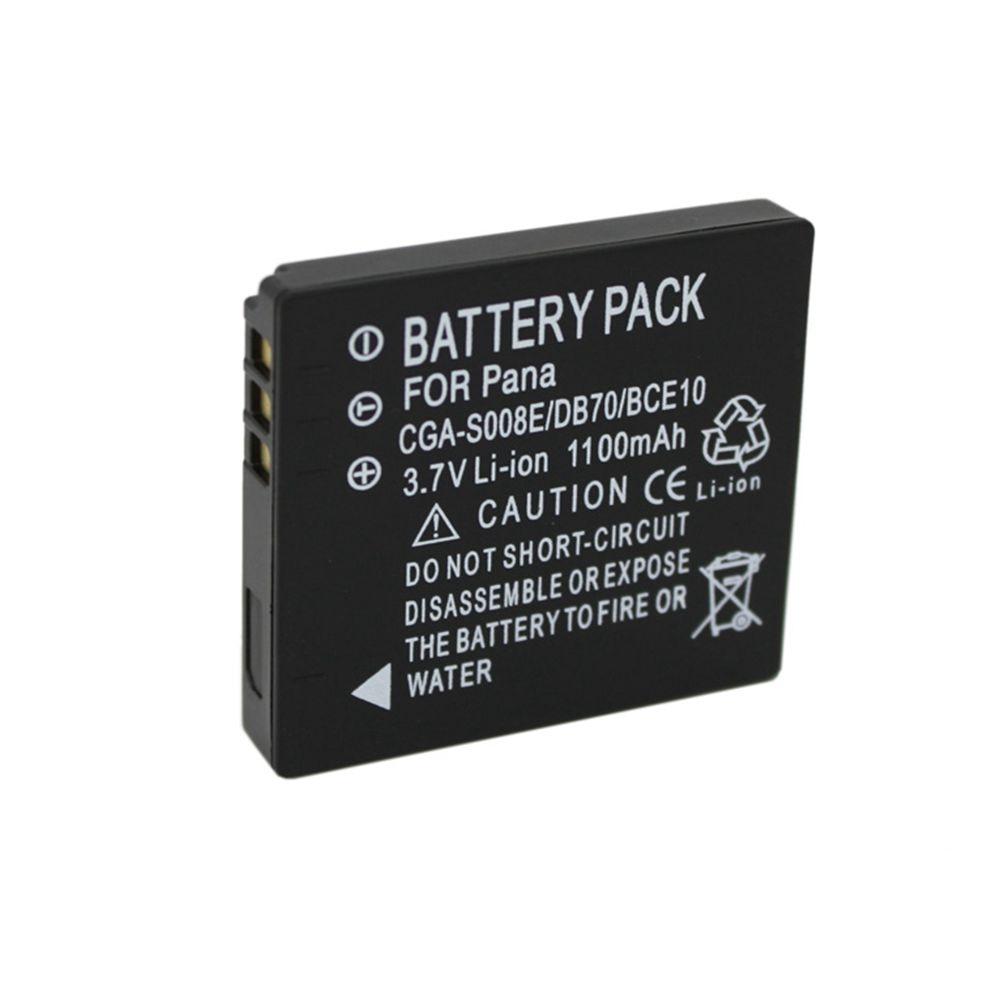 Power batería Li-ion 1000mah para Panasonic Lumix dmc-fx37