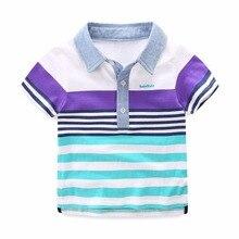 Mudkingdom Boys Striped Summer Polo Shirts