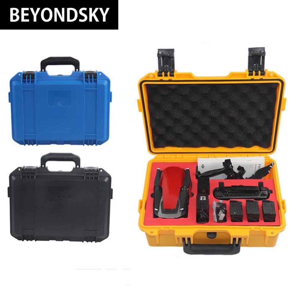 Новый Тип Дрон dji Мавик Air Высокое качество Водонепроницаемый случае Пластик Детская безопасность хранения компактный чемодан для RC Quadcopter И...