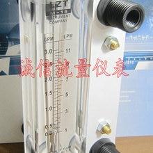 Жидкостный расходомер для поверхностной пластины Lzt-15 0,3-3gpm, расходомер для воды 1-11lpm