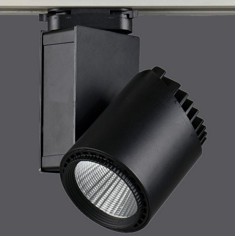 Snyka LED Track Light 20W 30W 35W COB Rail lights Track Lighting For Pendant Kitchen Clothes Shoes Shop Store Lamps Indoor Light led track light50wled exhibition hall cob track light to shoot the light clothing store to shoot the light window