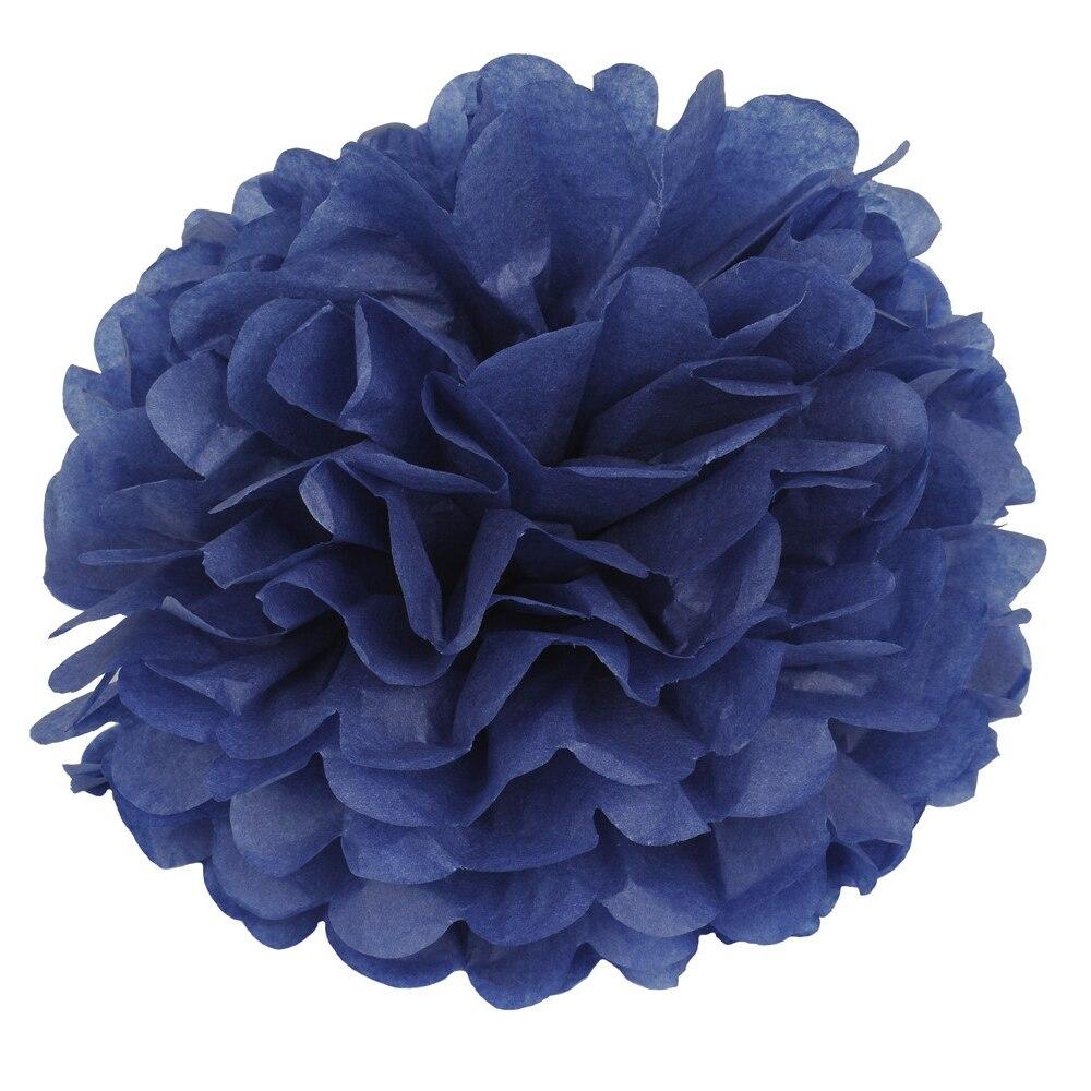 14 pulgadas (35 cm) Papel de Seda POMPONES de Flores Bolas Decoración Festivo y