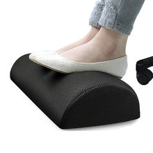 Foot Rest Cushion Memory Foam Leg Knee Pain Relief Pillow Footrest Relaxing Portable Feet Tool for Air Under Desk Home Office(China)