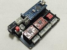 Laser bricolage gravure Laser machine micro 2 axes moteur pas à pas carte de commande d'entraînement logiciel transfert de puissance LG120