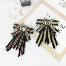 New Striped Ties Butterfly Women's Bow Tie fashion Female Girl Student Hotel Clerk Waitress Neck Wear neck tie Shirt Accessories