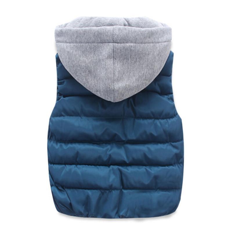 Image 5 - children warm vest kids cotton padded thicken waistcoat kids outwears vest boy&girls jacket baby clothes children clothing-in Vests from Mother & Kids