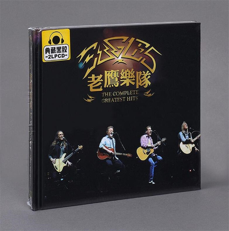 Free Shipping: Eagles Album Europe and the United States classic song California hotel selected 2CD sealed