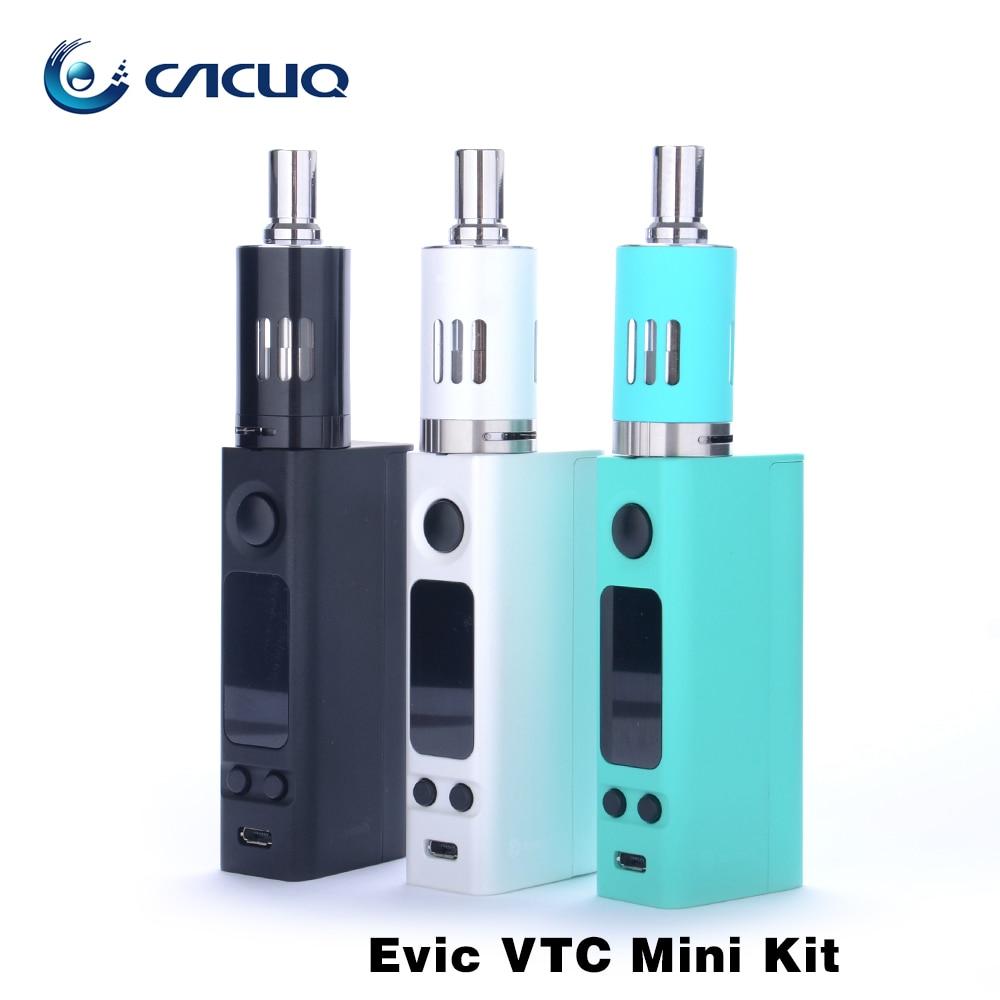 ФОТО Russian Warehouse Original Joyetech evic vtc mini kit 1-75w Temperature Control Evic Vtwo Mini Mod with ego one mega atomizer
